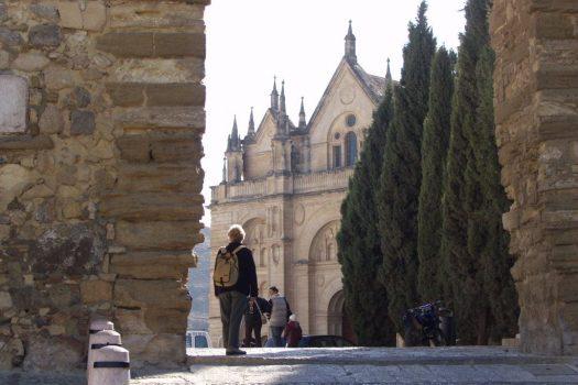 Antequera - Arco de los Gigantes y Santa Maria Antequera