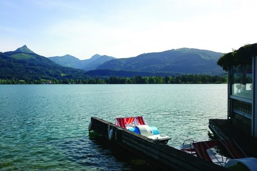 Beautiful Austrian Lakes and mountain view NCN