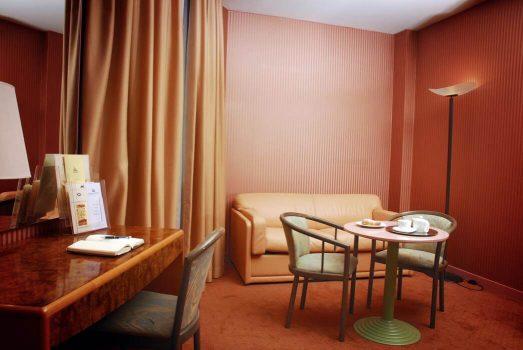 Bedroom Area ©Perugia Park Hotel
