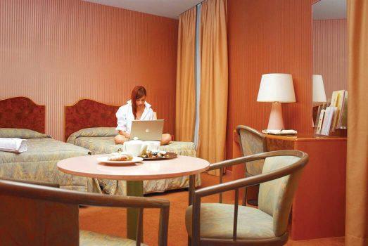 Bedroom ©Perugia Park Hotel