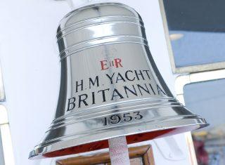 Bell on The Royal Yacht Britannia, Edinburgh, Scotland © Helen Pugh