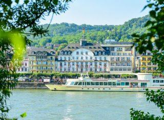 Bellevue Rheinhotel Front