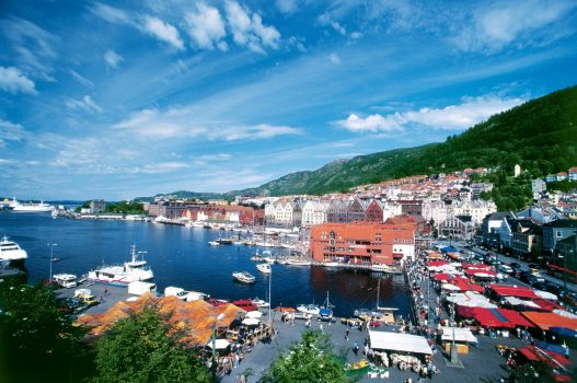 Bergen Harbour © Norwegian Cruise Line
