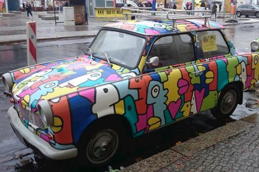Germany Berlin - old timer car Trabant -NCN