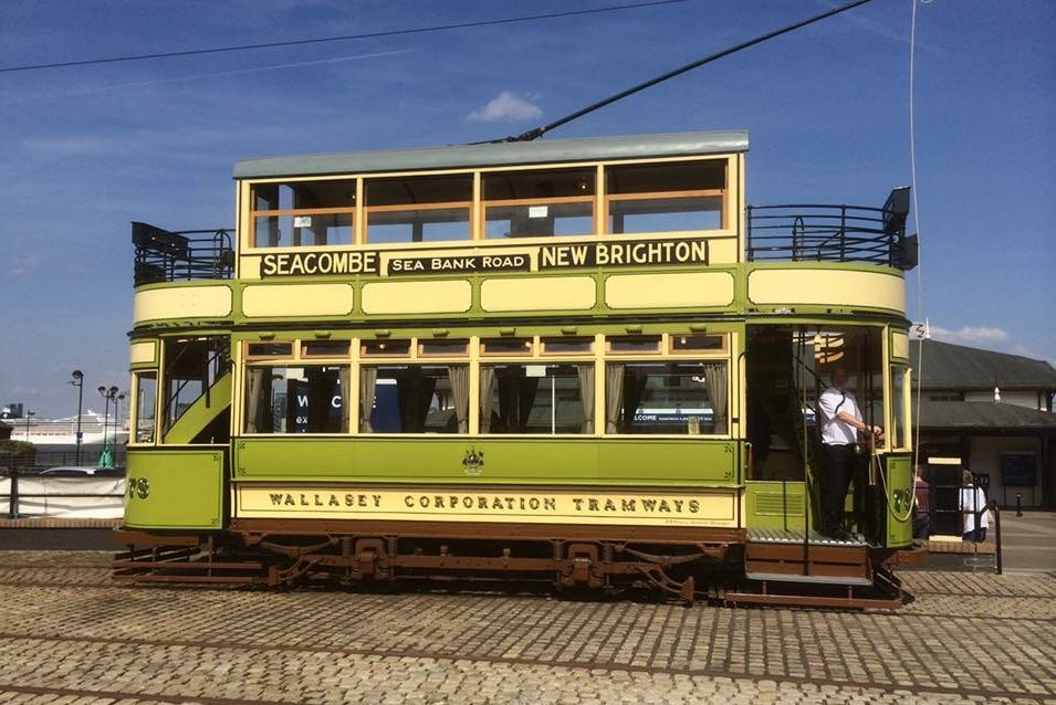 River Mersey, Liverpool - Tram (NCN)