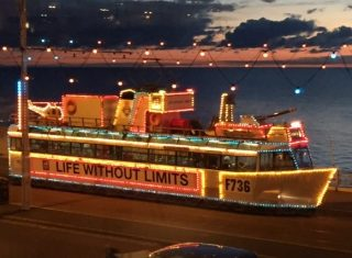 Blackpool illuminated tram