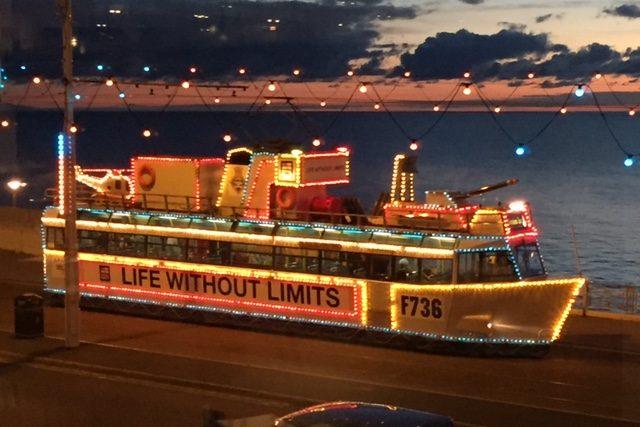 Blackpool illuminated tram