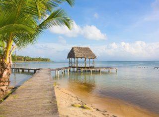Panama, Bocas del Toro, beach, pier © Owner www.panamajourneys.com