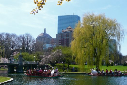 Boston Gardens ©discovernewengland
