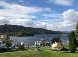 Bowness on Lake Windermere - Sunny day in Cumbria