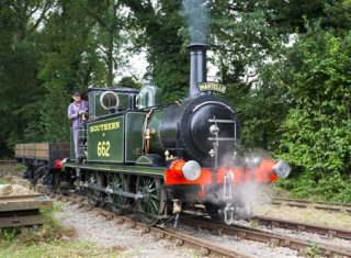 Bressingham Steam & Gardens, Norfolk - Martello driver experience (NCN)
