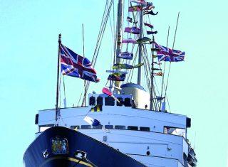 Royal Scotland The Yacht Britannia portrait ©The Royal Yacht Britannia