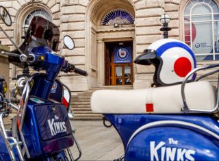 British Music Experience, Liverpool, The Kinks Motorcycle