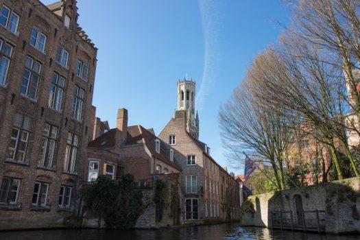 Bruges, Belgium - Bruges historic buildings and canal_1 © PT Wilding