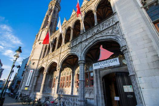 Bruges, Belgium - Historium Brugge © PT Wilding