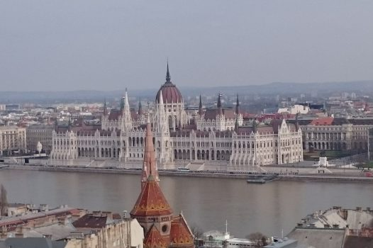 View of the Danube and the Parliament