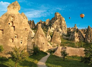 Cappadocia, Turkey ©The Ministry of Turkish Culture and Tourism