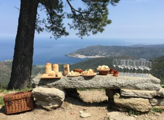 Spain, Catalonia, Cap de Creus, Sant Pere de Rodos Monastery, local produce tasting, food tour NCN