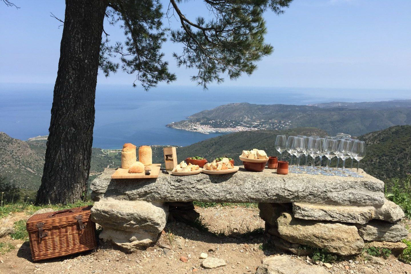 Spain, Catalonia, Cap de Creus, Sant Pere de Rodos Monastery, local produce tasting, food tour NCN