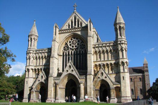 Hertfordshire tour Cathedral West Door, St Albans ©www.enjoystalbans.com