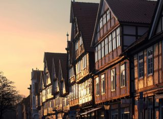 Historic Celle Town centre, Germany ©GNTO
