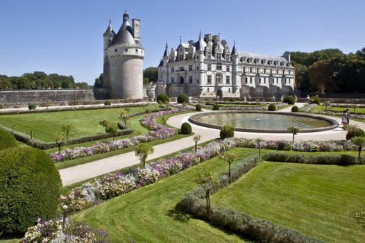 Chateau de Chenoneau, Touraine, France, jardin ©Chateau de Chenoneau