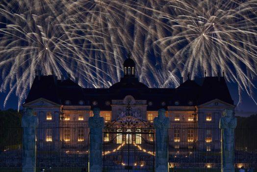Chateau de Vaux-le-Vicomte, France - Candles and fireworks © Christophe Blanc