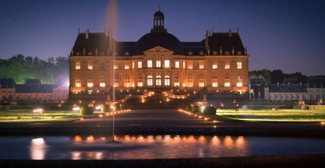 Chateau de Vaux-le-Vicomte, France - Candles south facade © Erwann Eignan