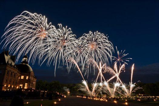 Chateau de Vaux-le-Vicomte, France - Fireworks (NCN1)