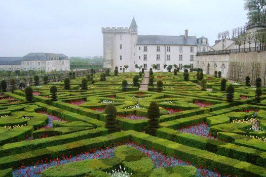Chateau de Villandry, Loire, France - Exterior and Garden (NCN_AFR)