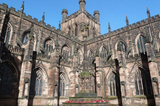 Chester, Cheshire - Cathedral (Sightseeing_NCN)