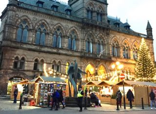 Chester Christmas Market, Chester, Cheshire