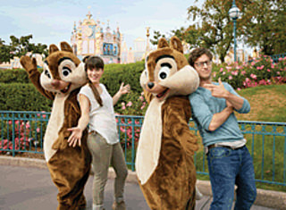 Meet Chip-n-Dale at Disneyland® Paris