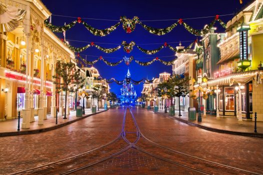 Christmas Decorations on Main Street USA®