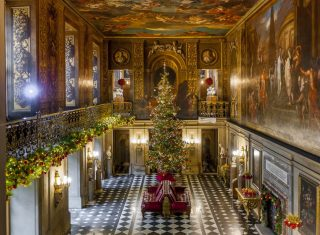 Christmas at Chatsworth House