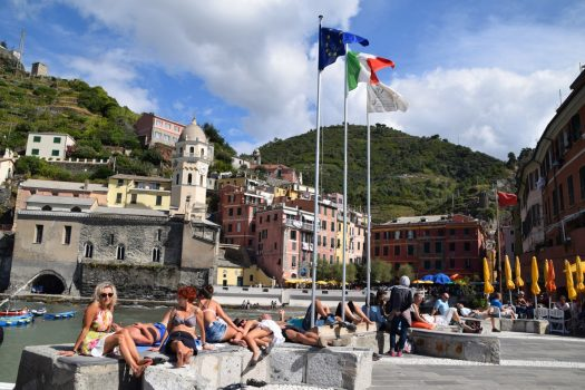 Cinque Terre, Italian Riviera, Liguria, Italy, group travel