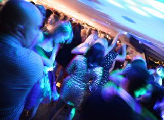 Dancing aboard City Cruises