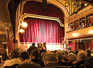 City Varieties Auditorium © Courtesy of City Varieties Music Hall