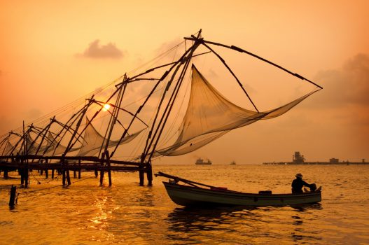 Chinese Fishing Nets, Kochi, India NCN