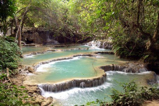 Kuangsi Waterfall, Laos © Hoi An Express