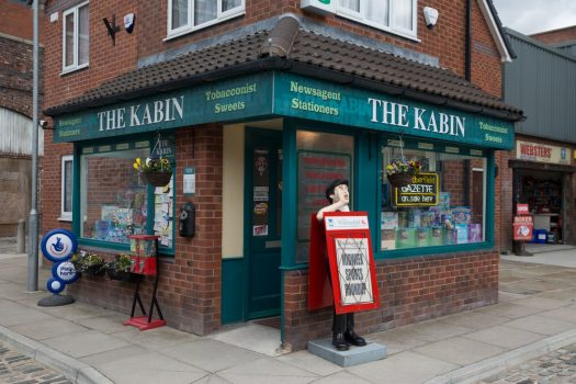 Coronation Street Tour, Manchester - The Kabin © ITV