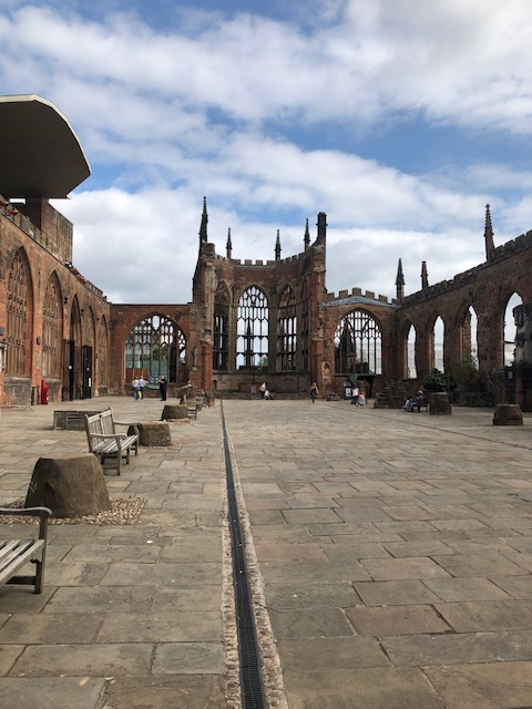 Coventry, Warwickshire - Fam trip - Coventry Cathedral