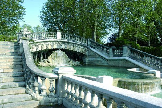 France, Burgundy, Dijon, Jardin Darcy