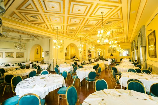 Dining Room, Hotel Milan Speranza au Lac, Stresa, Lake Maggiore (c) Hotel Milan Speranza au Lac