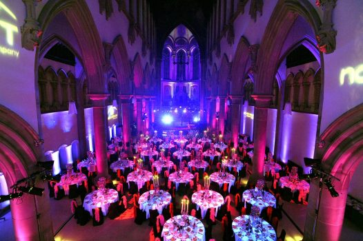 Dining at The Monastery Manchester