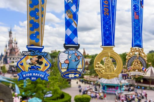 Disneyland Paris Half Marathon 2016 Medals © Disney