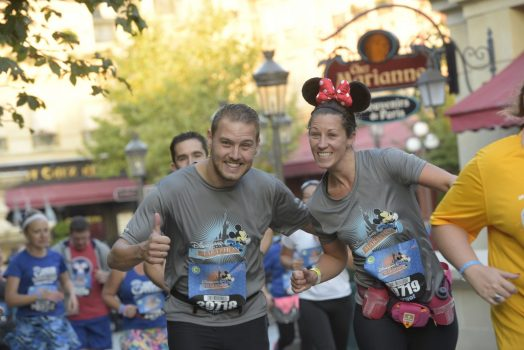 Disneyland Paris Half Marathon 2016 Runners ©Disney