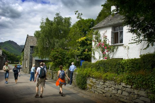 Dove Cottage, The Lake District, Cumbria - From the lane