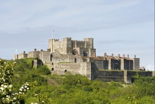 Dover Castle and Cliffs © English Heritage Photo Library