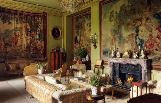Tweed Valley Floors Castle Drawing Room ©Courtsey of Roxburghe Estates